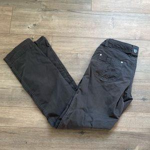 KUHL Dark Gray Hiking Pants Size 4